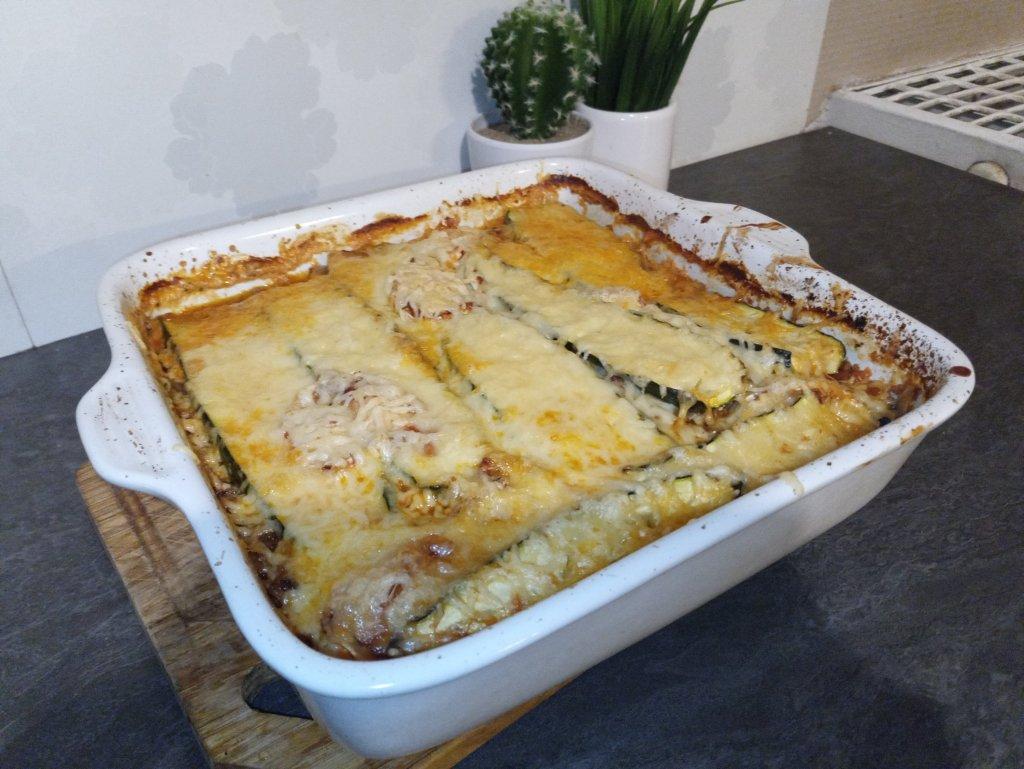 Recette facile de lasagnes de courgettes
